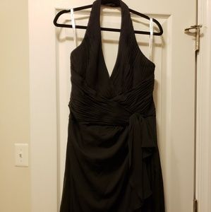 David's Bridal Size 16 Halter gown